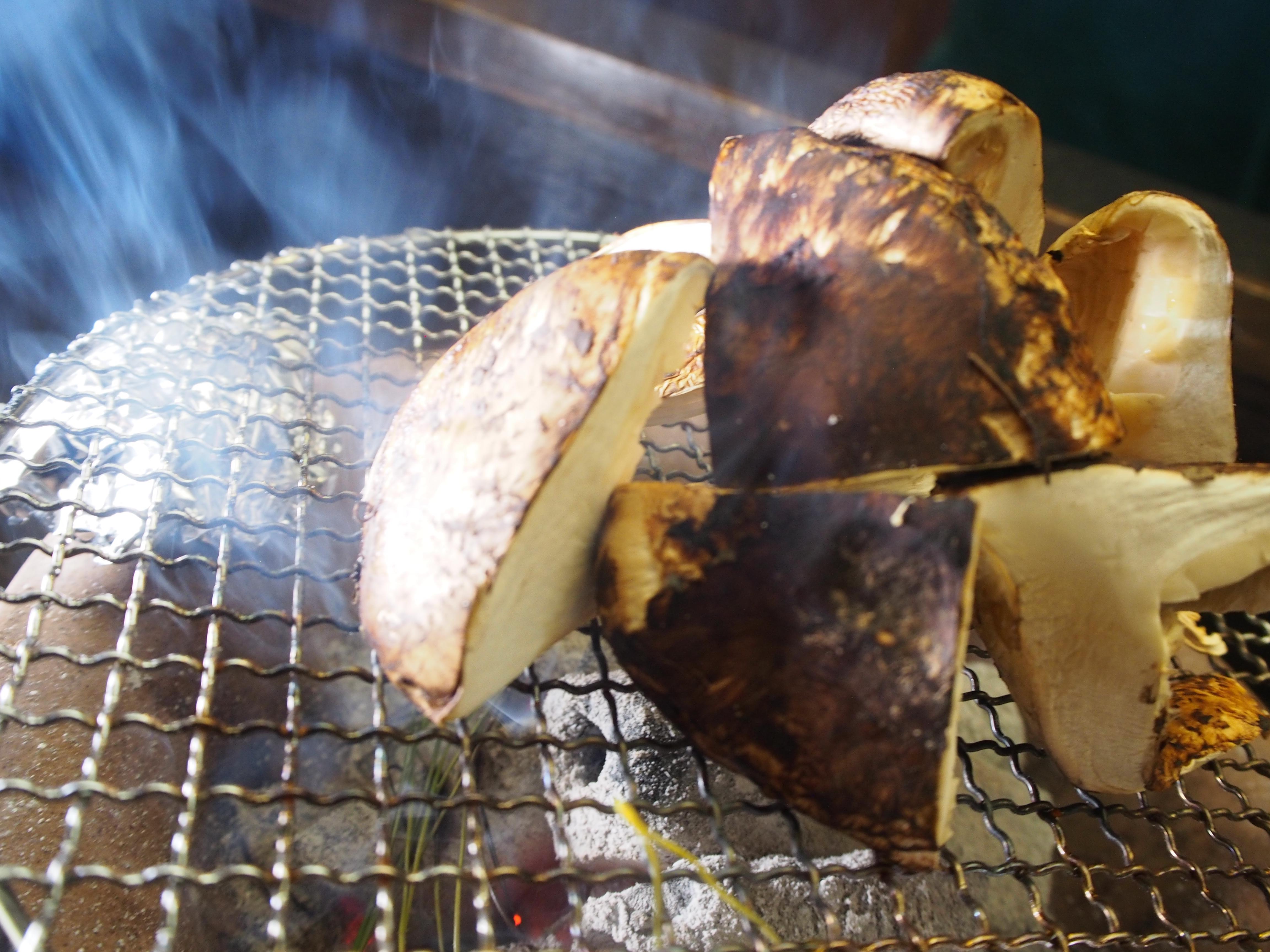 京料理祇園おくおか 松茸